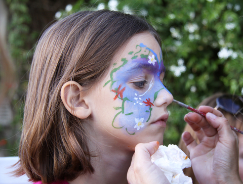Glasgow Party planning - face painting